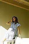 Striped Starfish Mini Dress