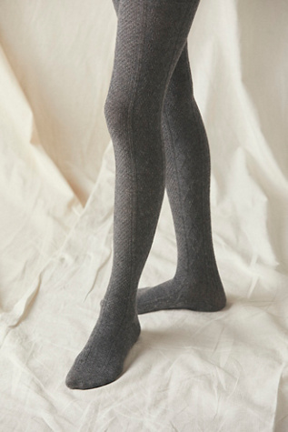 Love Story Cable Sweater Tights | Free People