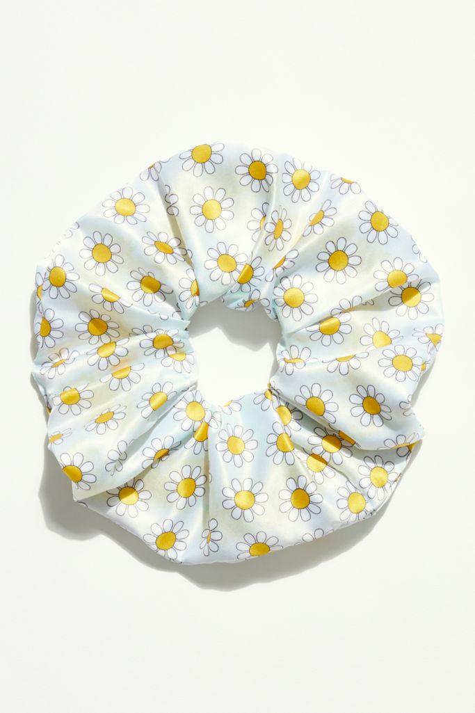 Daisy Mint super scrunchie - Free People.