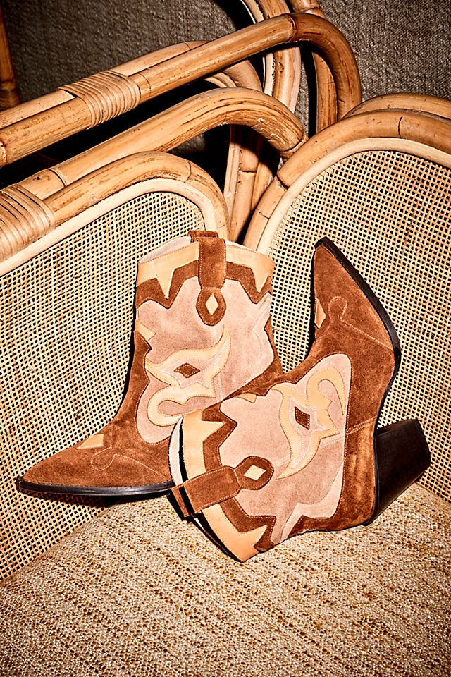 Golden Girl Western Boots free people