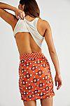 She's Something Else Printed Mini Skirt #1