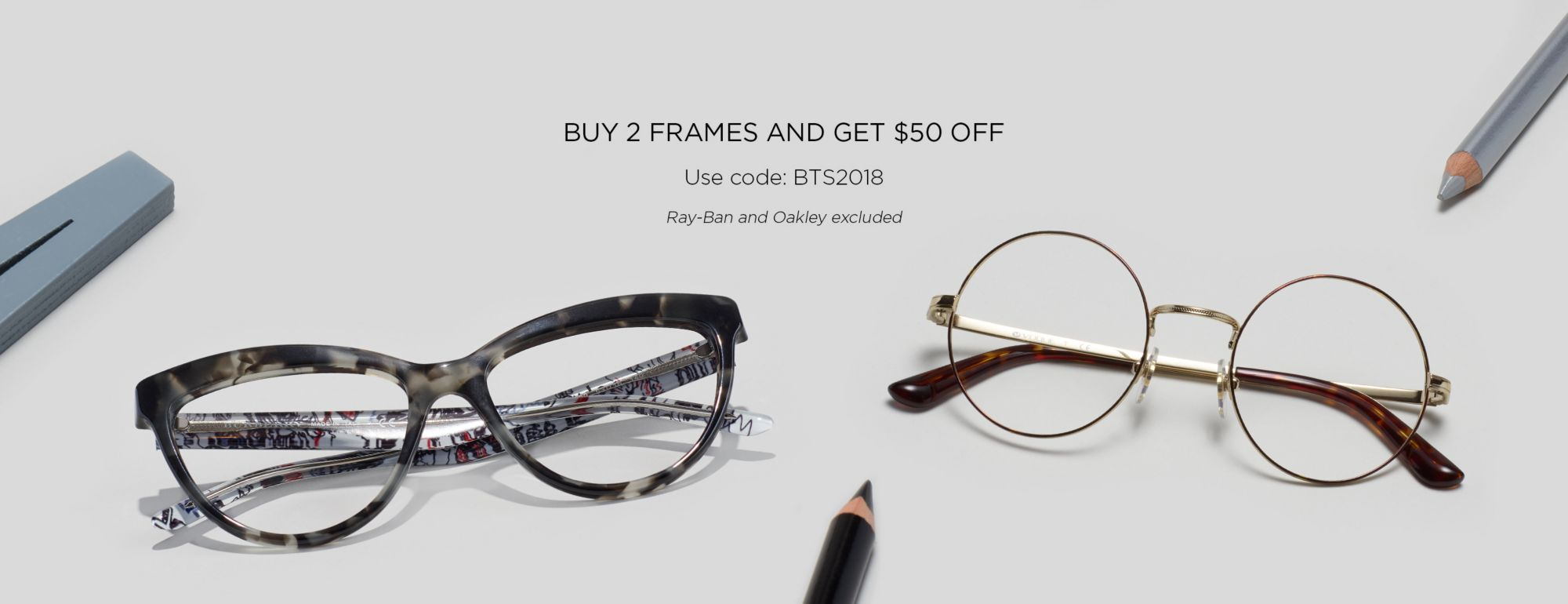 Glasses.com | Back to school | HeroImg