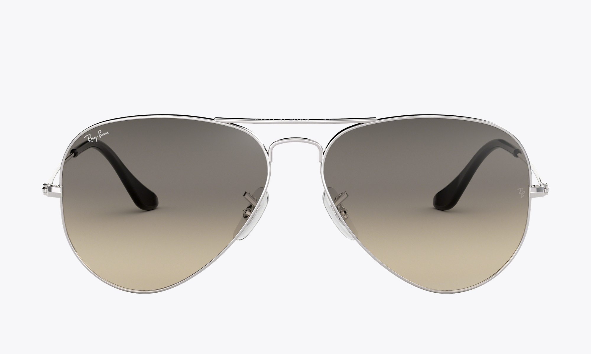Image of Ray-Ban AVIATOR CLASSIC color Silver