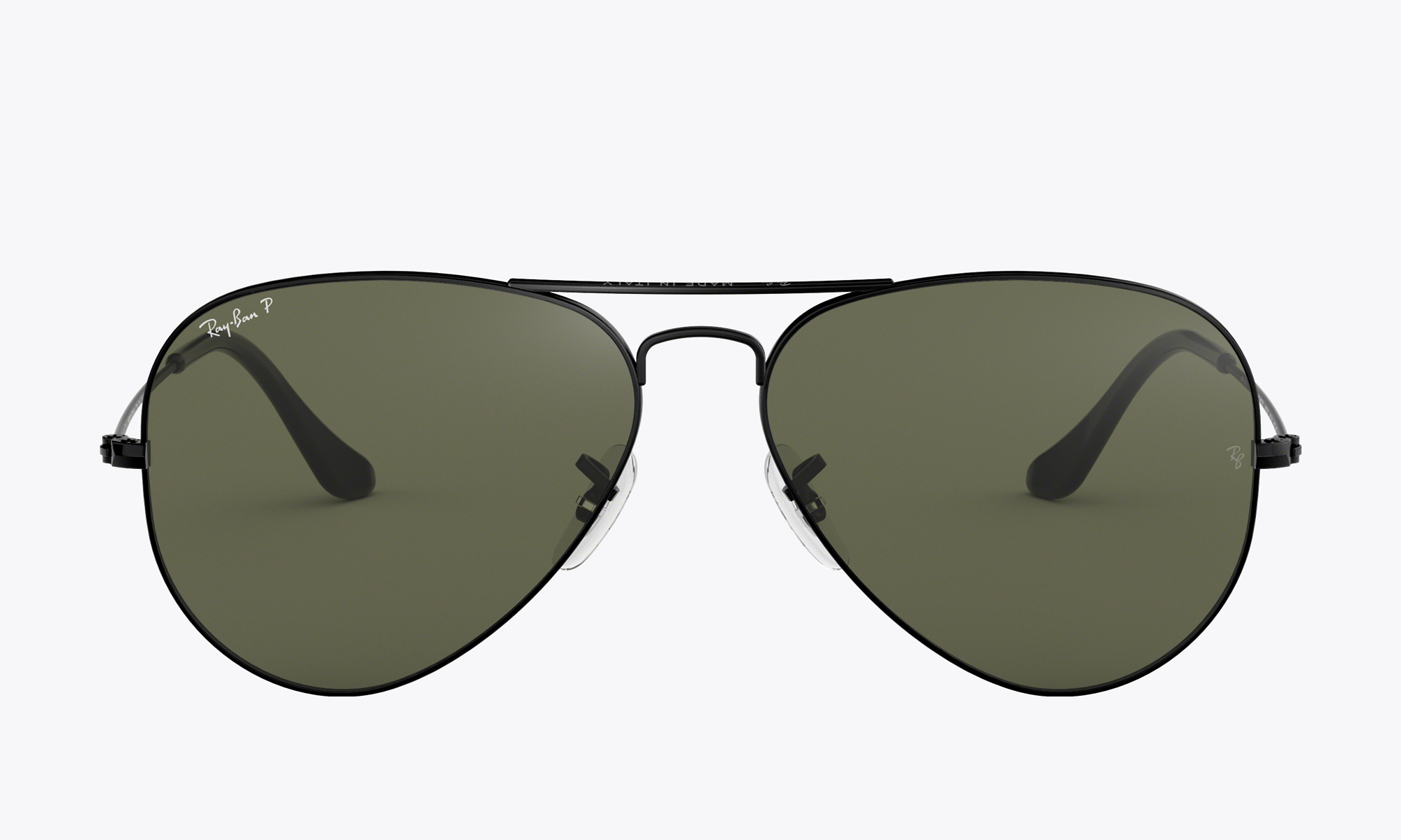 Image of Ray-Ban AVIATOR CLASSIC color Black
