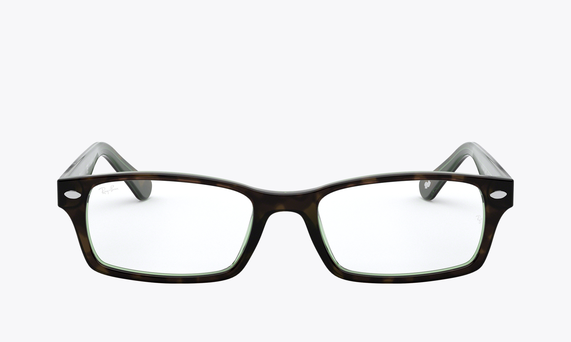 Image of Ray-Ban RX5206 color Green