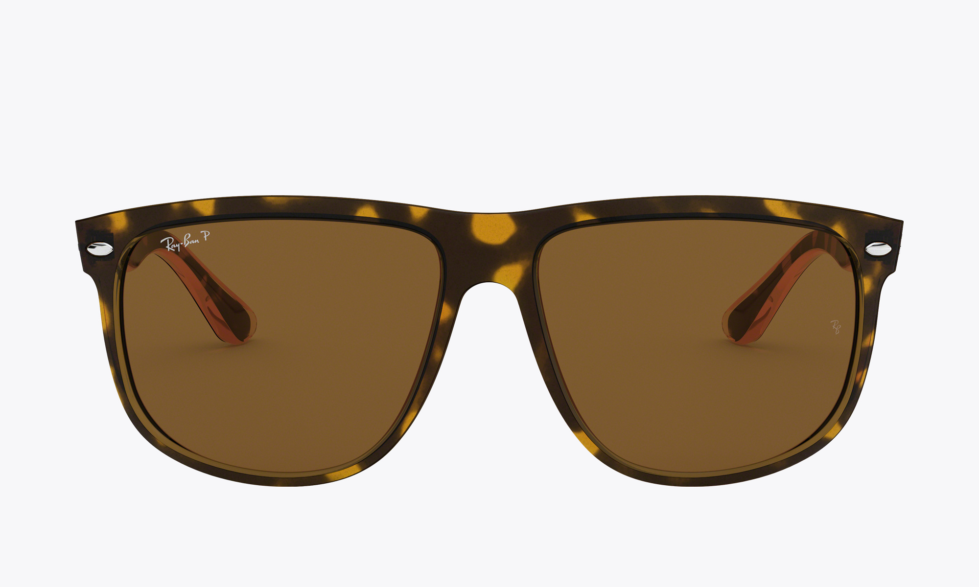 Image of Ray-Ban BOYFRIEND color Tortoise