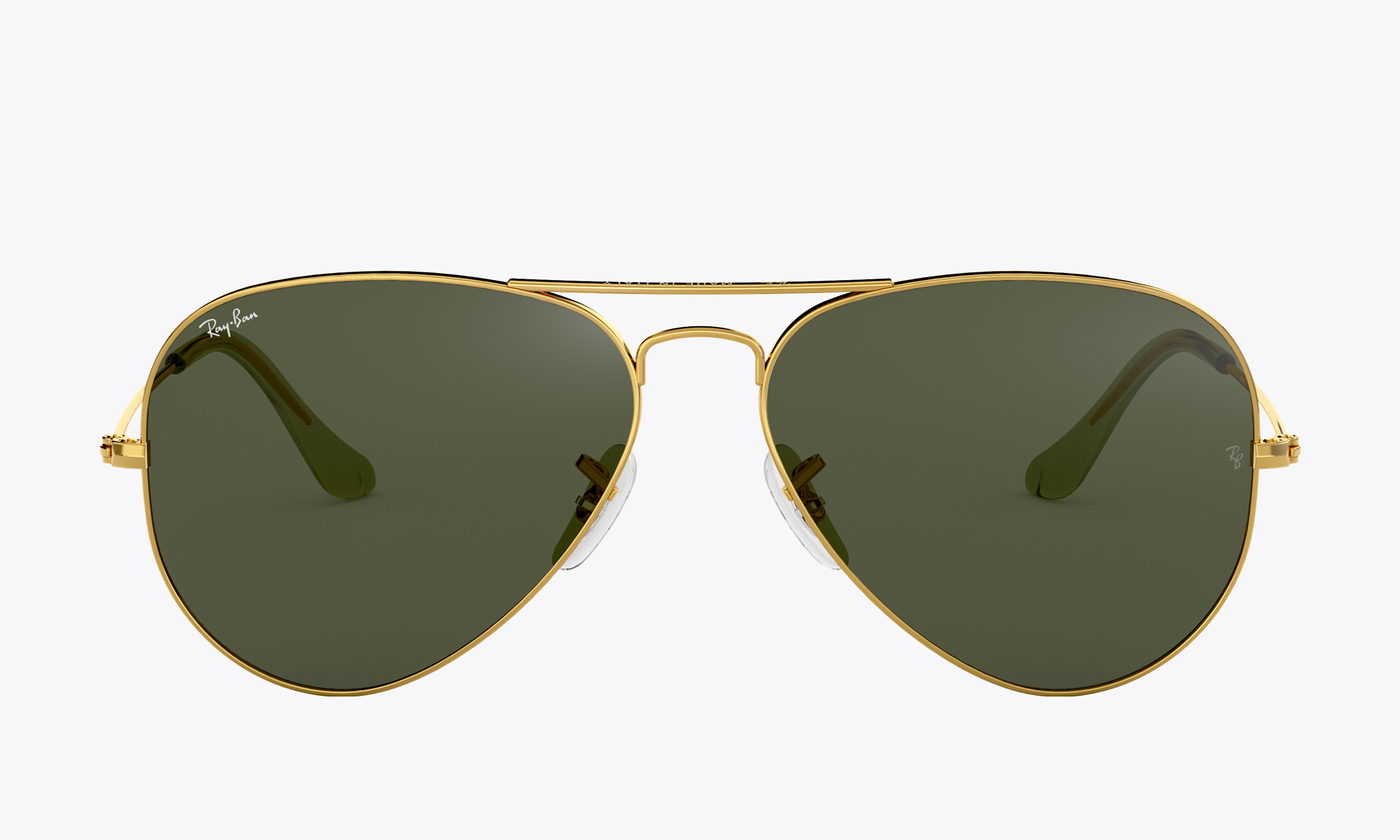 Image of Ray-Ban AVIATOR CLASSIC color Gold