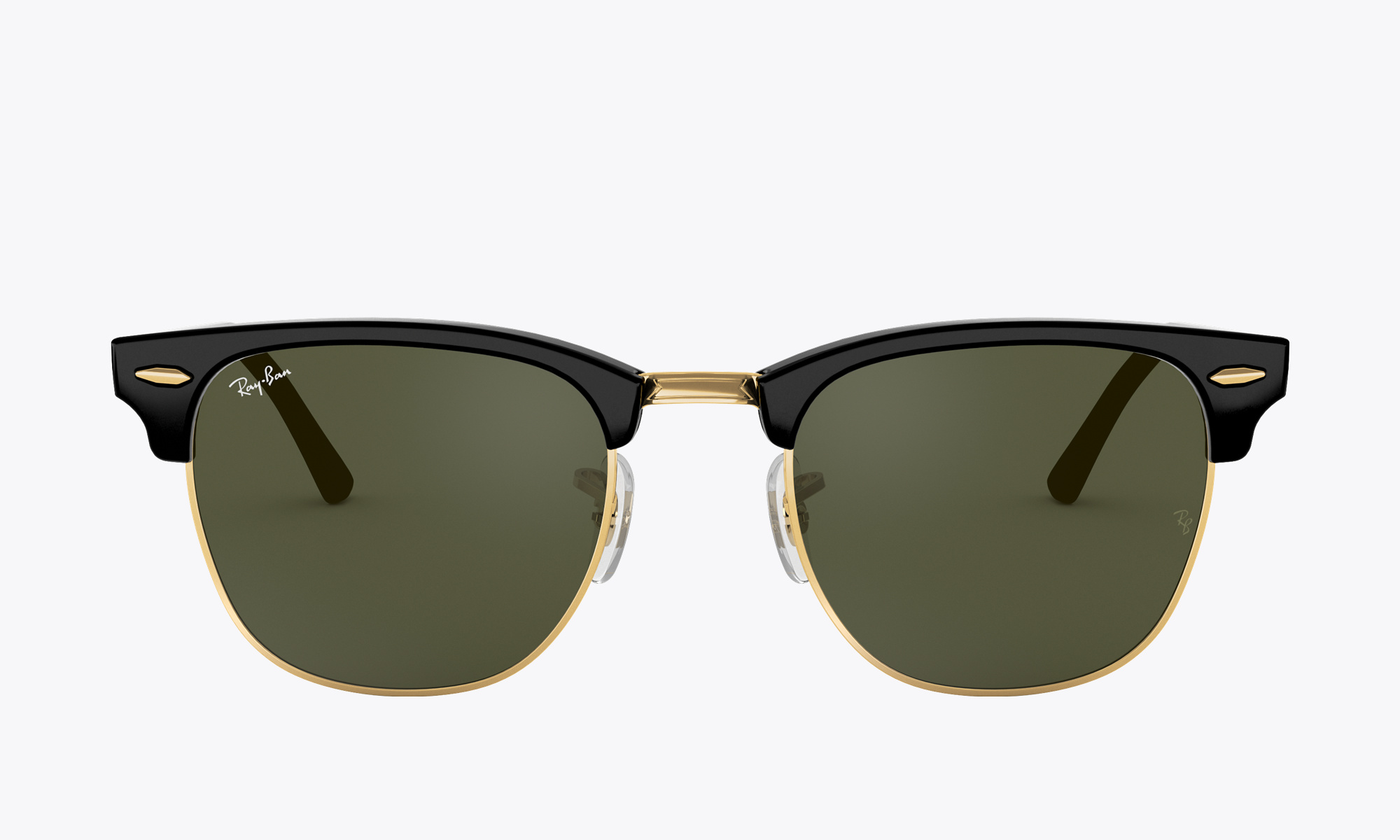 Image of Ray-Ban CLUBMASTER CLASSIC color Black