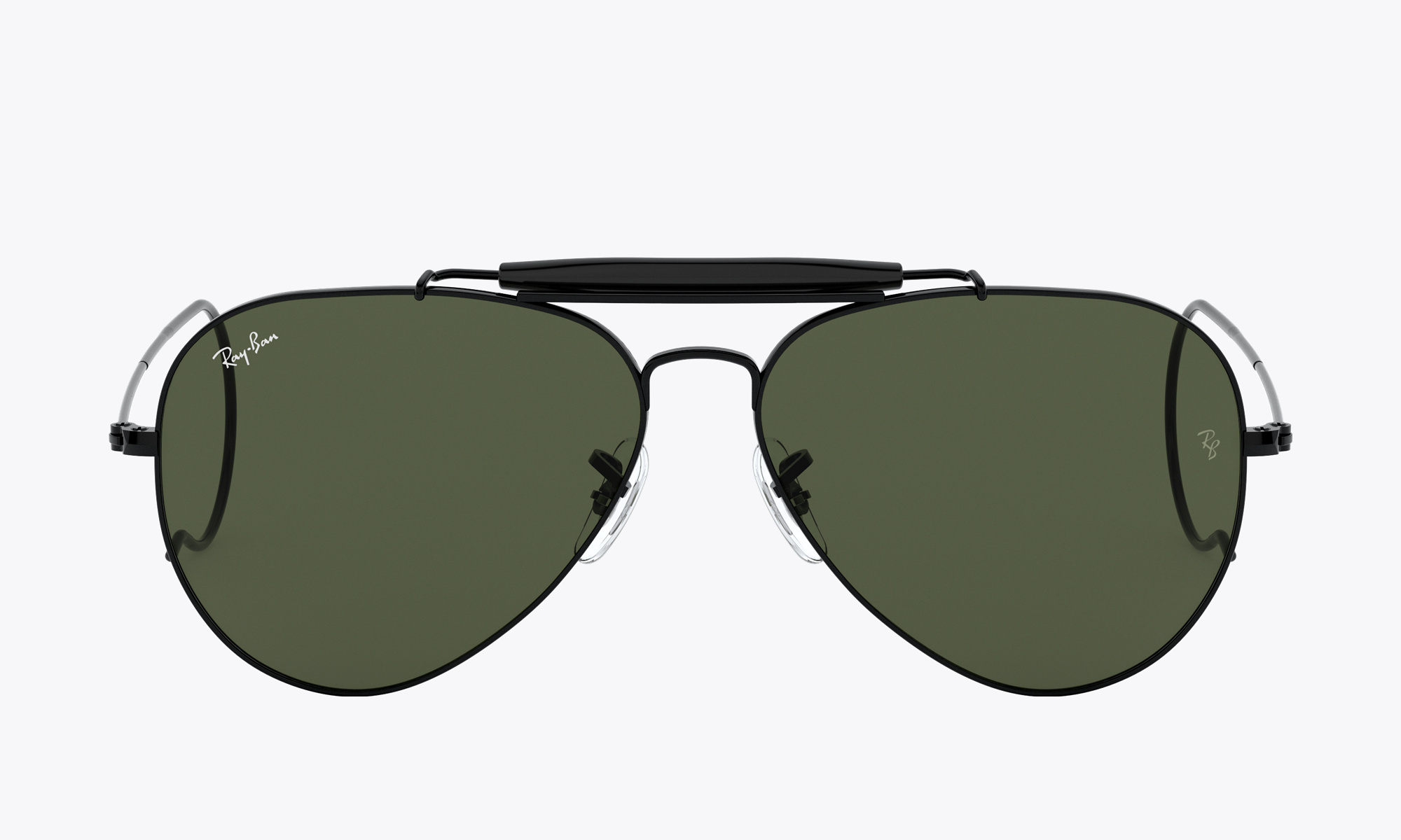 Image of Ray-Ban OUTDOORSMAN color Black