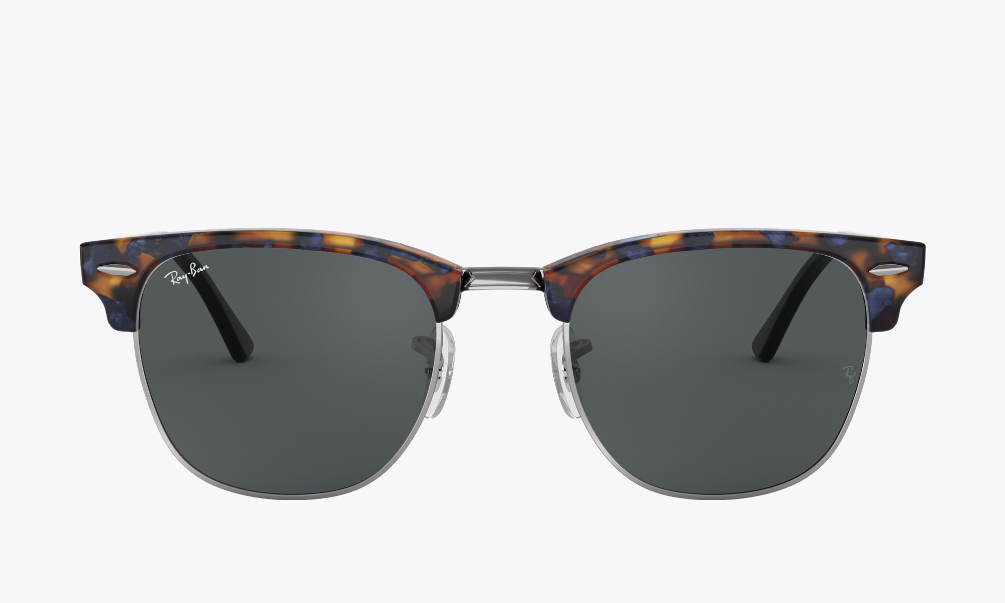 Image of Ray-Ban CLUBMASTER CLASSIC color Blue