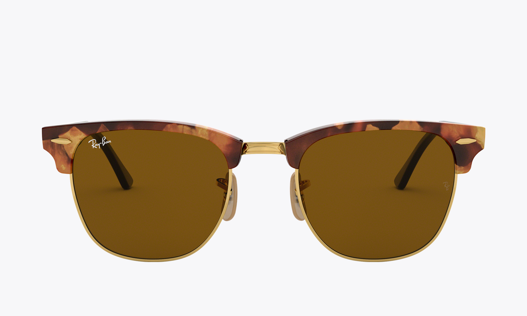 Image of Ray-Ban CLUBMASTER CLASSIC color Tortoise