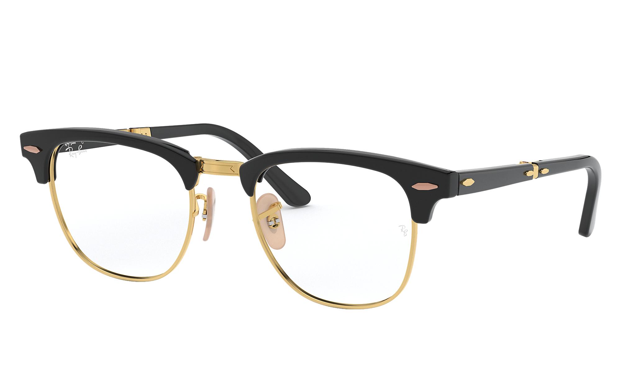 8c6950e33b97 Ray-Ban Clubmaster Folding Optics   Glasses.com®   Free Shipping