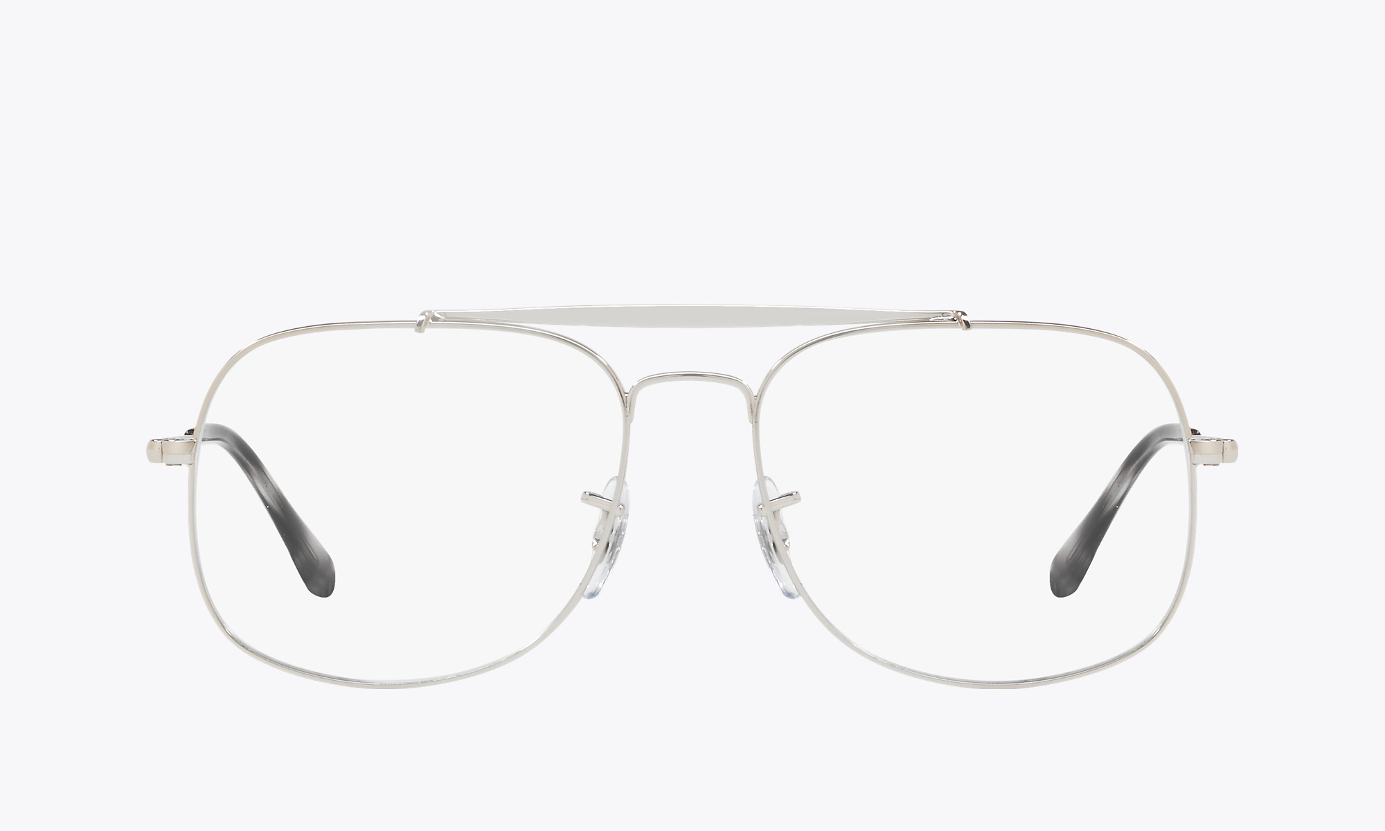 Image of Ray-Ban THE GENERAL color Silver