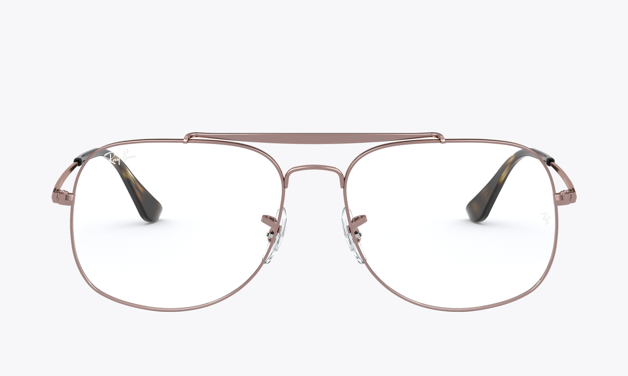Image of Ray-Ban THE GENERAL color Brown