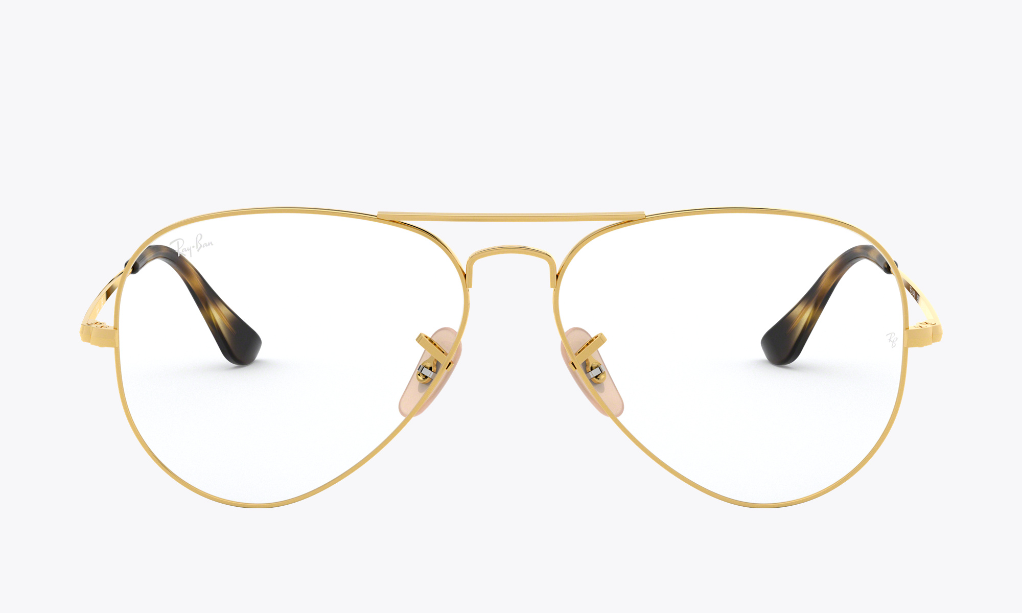 Image of Ray-Ban Aviator Optics color Gold