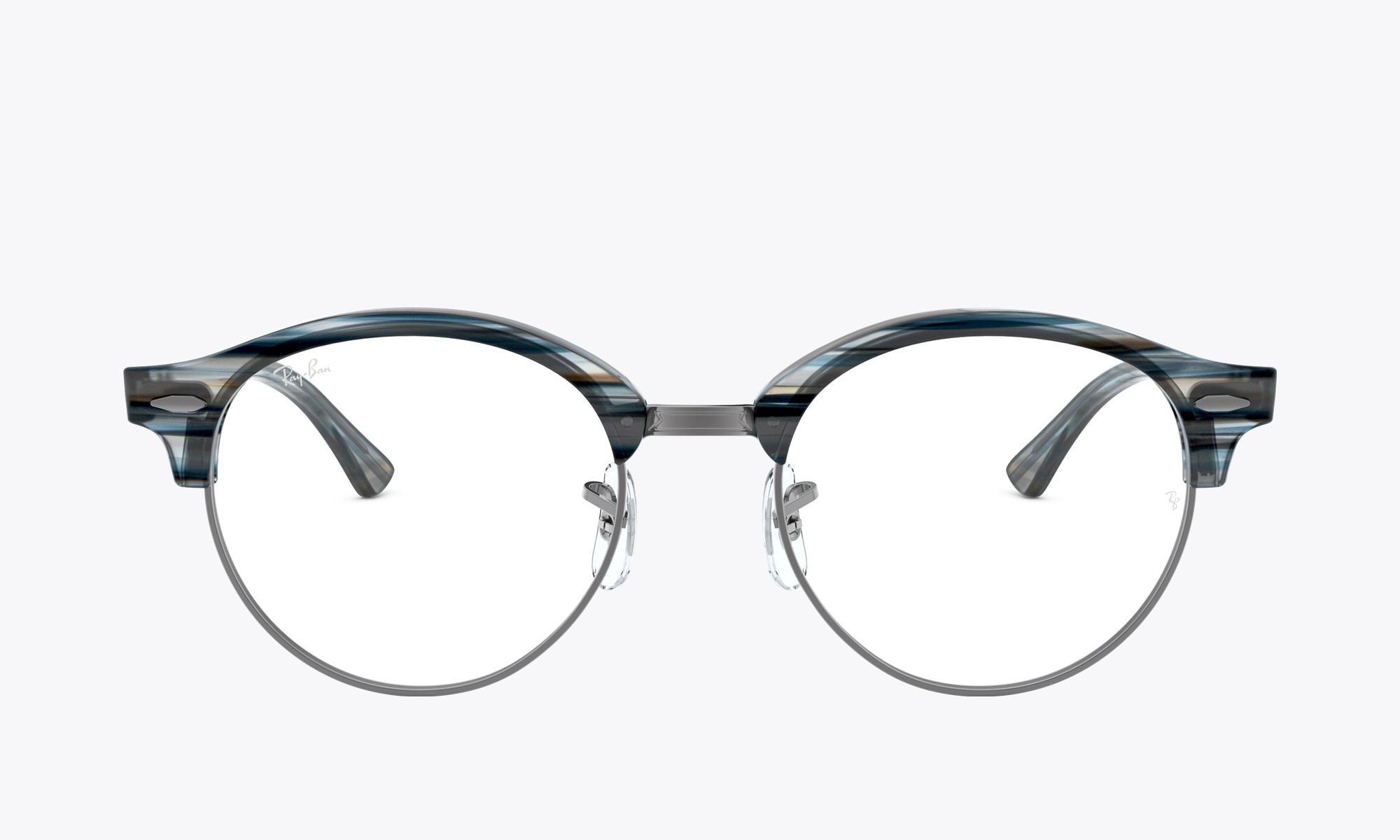 Image of Ray-Ban CLUBROUND OPTICS color Blue