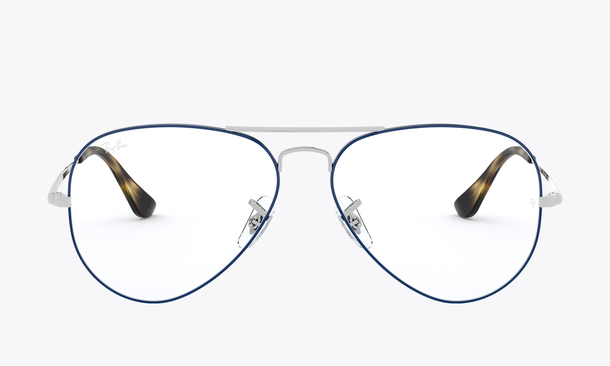 Image of Ray-Ban Aviator Optics color Blue