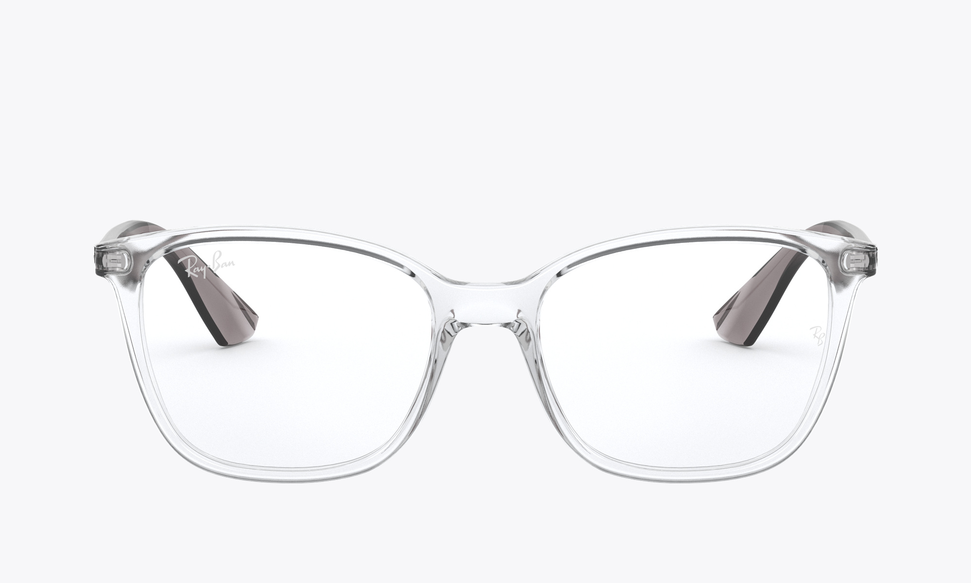 Image of Ray-Ban RX7066 color Transparent