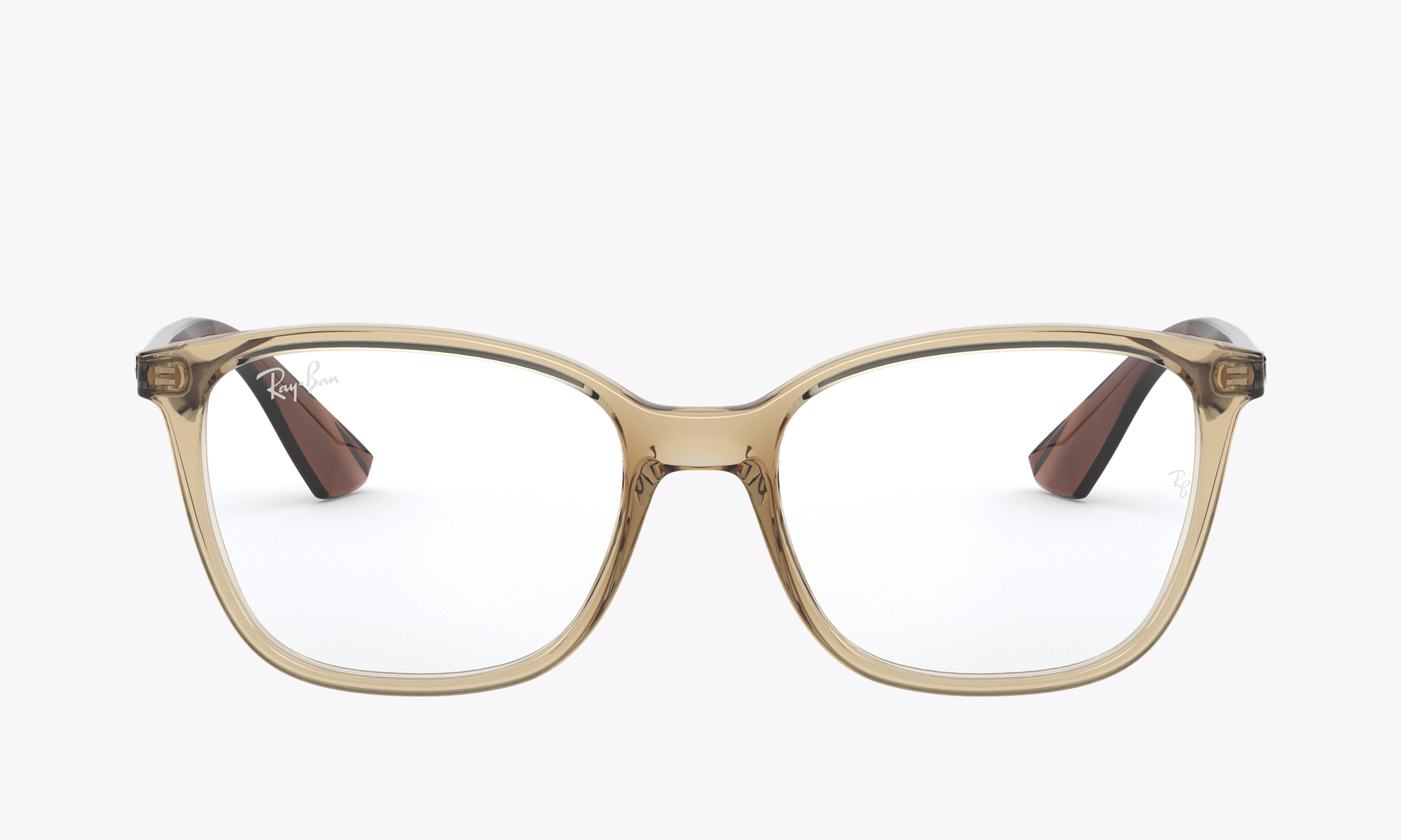 Image of Ray-Ban RX7066 color Brown
