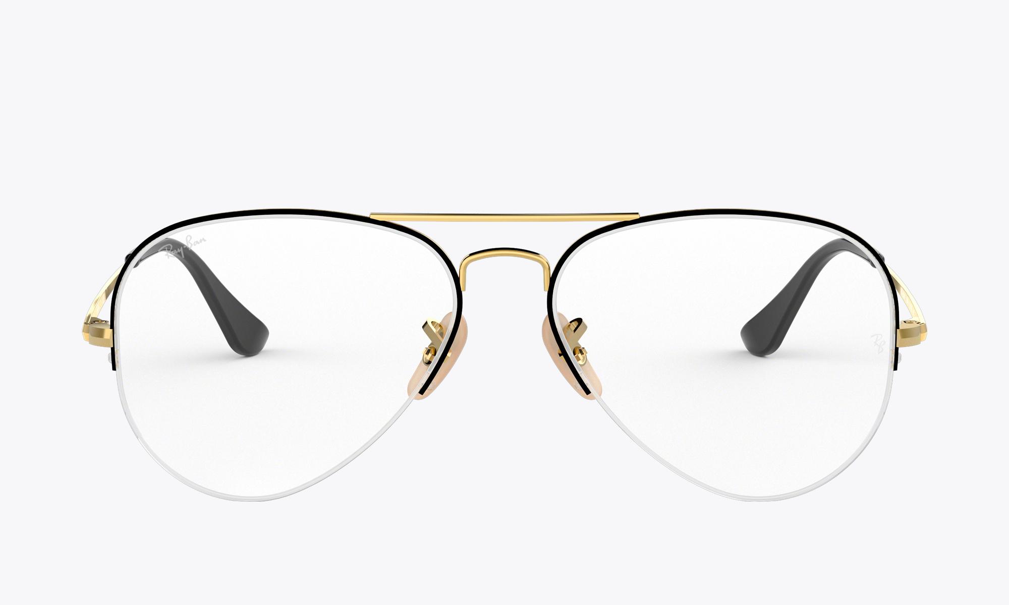 bcf6b828b Ray-Ban Aviator Gaze | Glasses.com® | Free Shipping