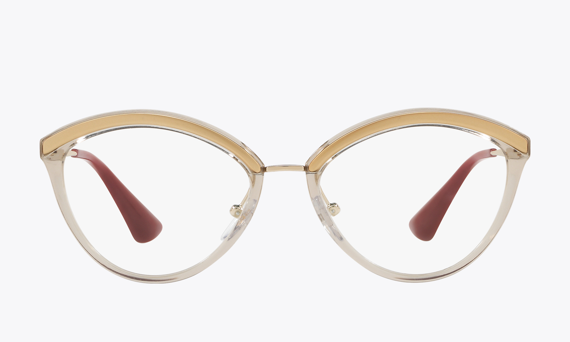 Image of Prada Catwalk PR 14UV color Brown