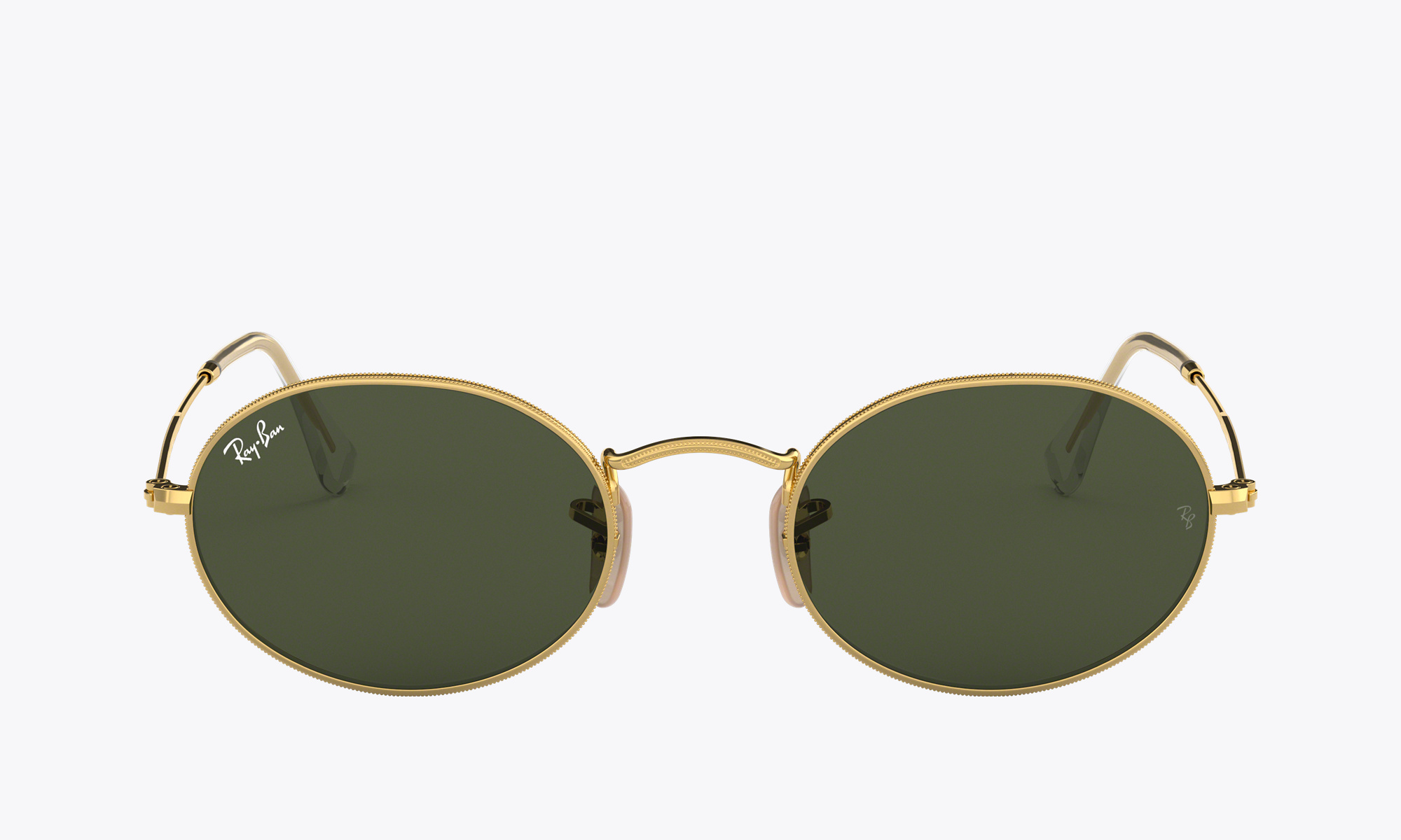 Image of Ray-Ban OVAL color Gold