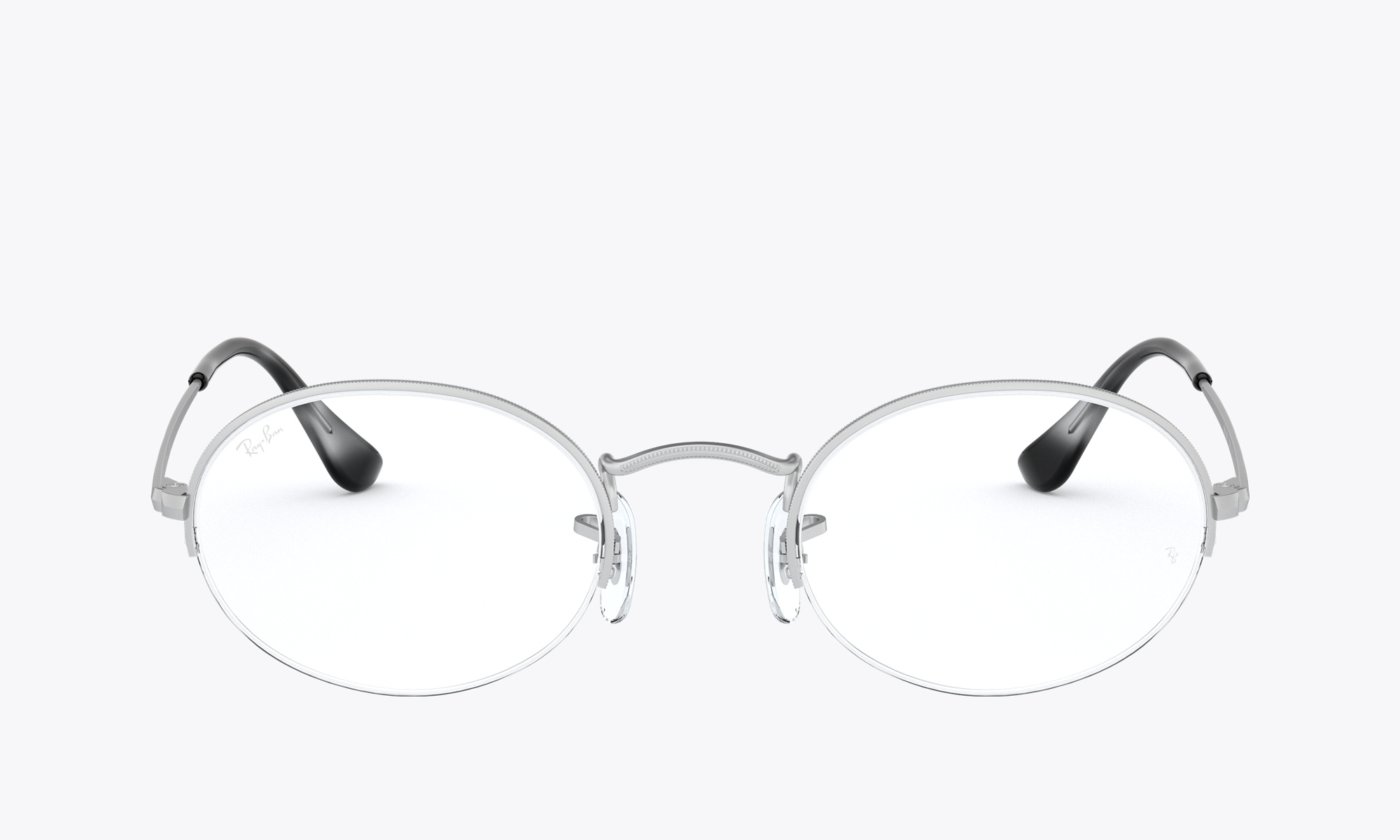 Image of Ray-Ban OVAL GAZE color Silver