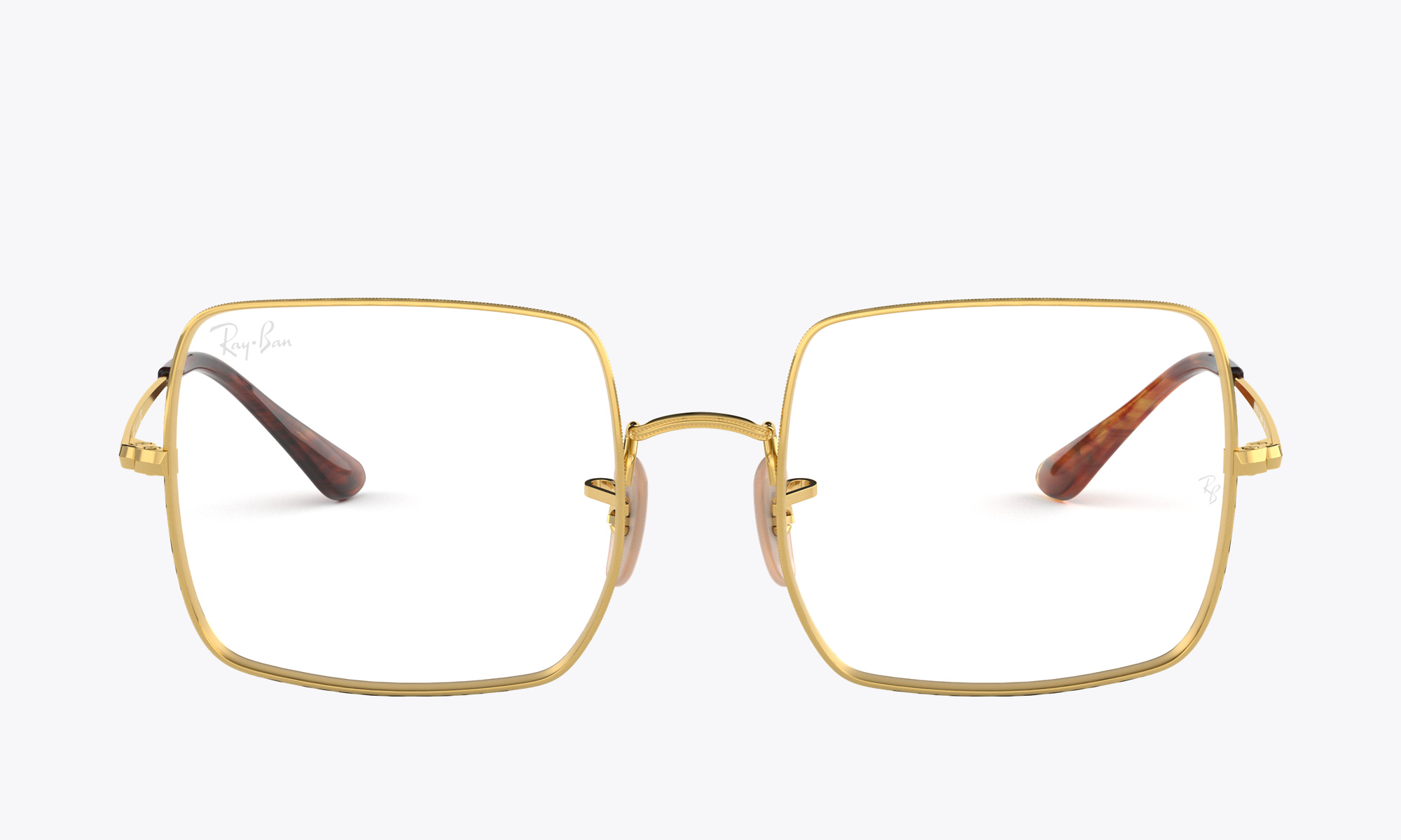 Image of Ray-Ban SQUARE 1971 OPTICS color Gold