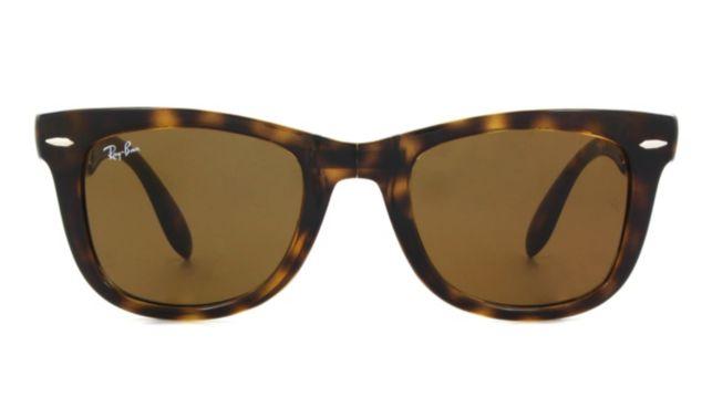 Ray Ban Folding Wayfarer Rb4105 Sunglasses Unisex Tortoise Online Discount