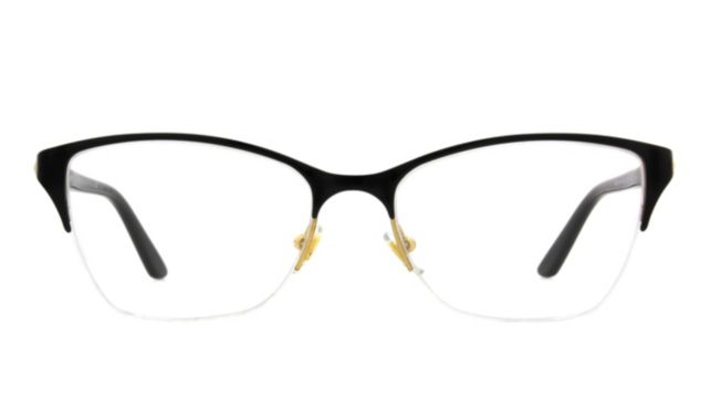 Versace Ve1218 Eyeglasses Women's Black Online Discount