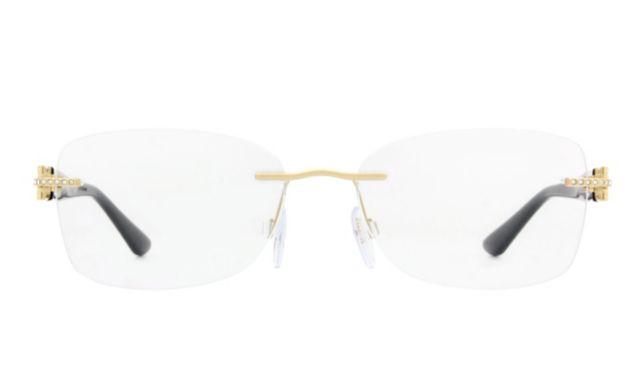 Versace Ve1225B Eyeglasses Women's Gold Online Discount