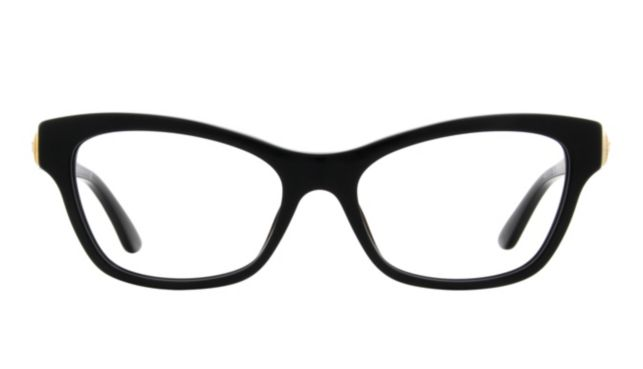 Versace Ve3214 Eyeglasses Women's Black Online Discount