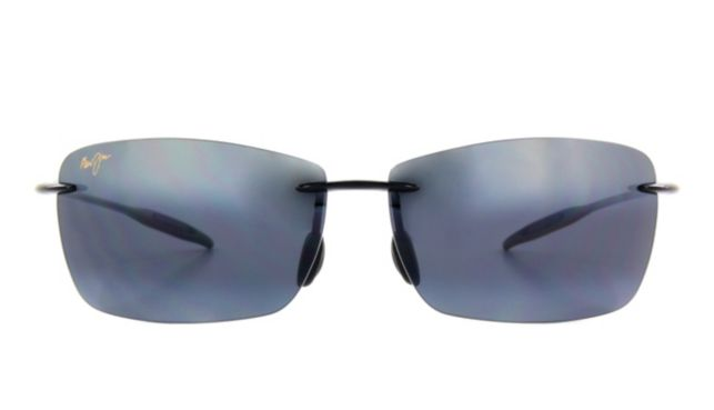 Maui Jim Lighthouse Sunglasses Unisex Black Online Discount