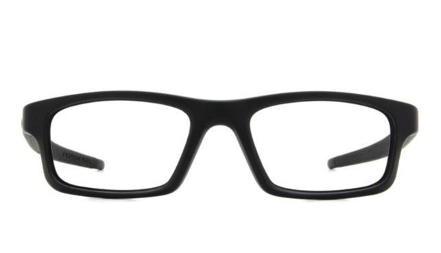 Oakley Crosslink Pitch Medium With Extra Temples Eyeglasses Men's Black Online Discount