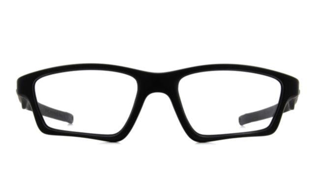 Oakley Crosslink Sweep With Extra Temples Eyeglasses Men's Black Online Discount