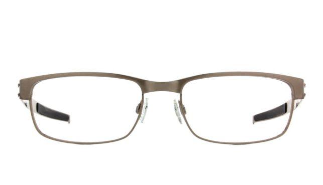Oakley Metal Plate Large Eyeglasses Men's Silver Online Discount