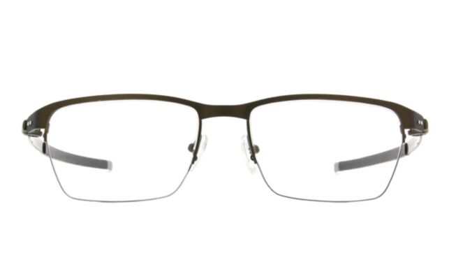 Oakley Tincup 0 5 Ti Eyeglasses Men's Brown Online Discount