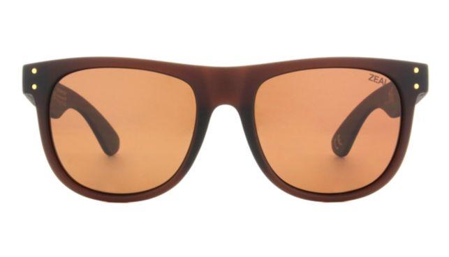 Zeal Optics Ace Sunglasses Unisex Brown Online Discount
