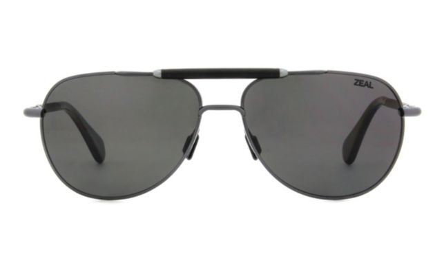 Zeal Optics Barstow Sunglasses Men's Gunmetal Online Discount