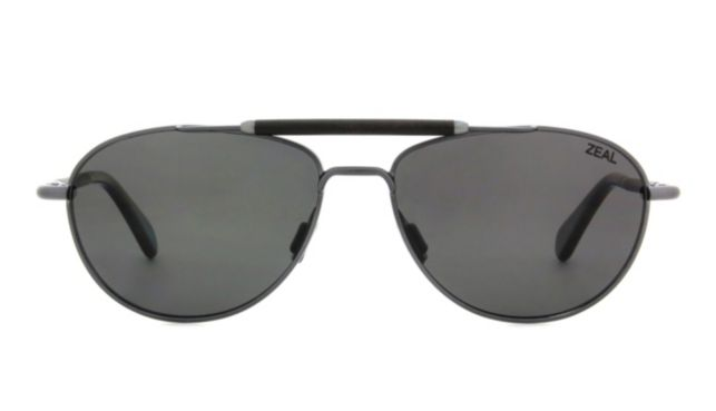 Zeal Optics Fairmont Sunglasses Unisex Gunmetal Online Discount