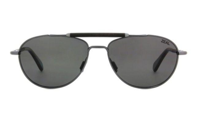 Zeal Optics Fairmont Sunglasses Unisex Gunmetal Online Discount