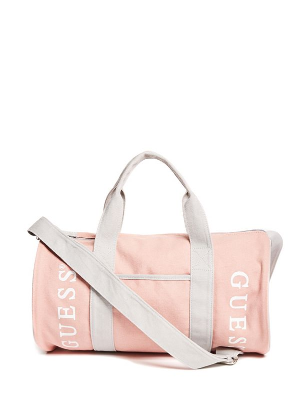 Canvas Logo Duffle Bag  8bd4e1e319297