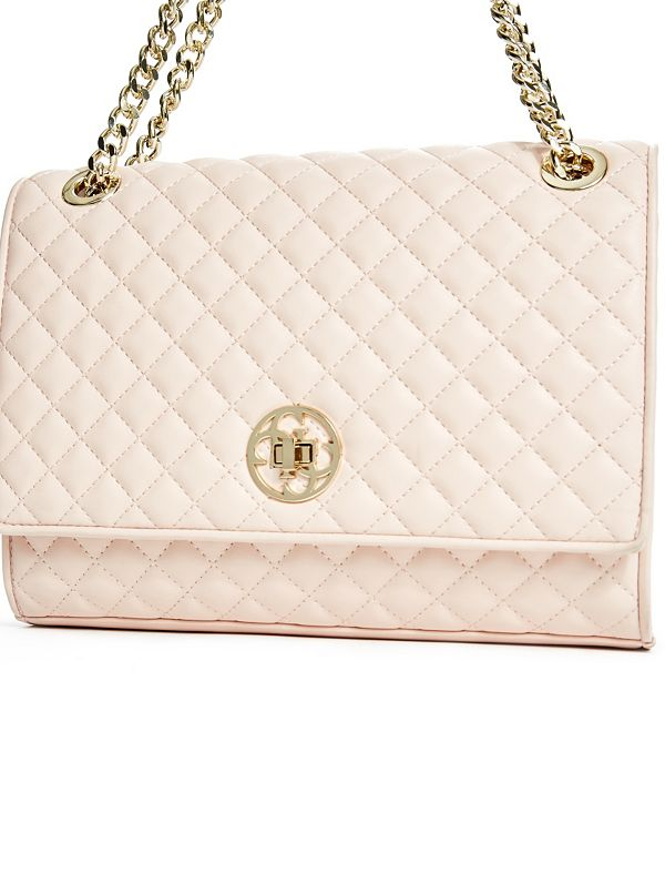 Classic Quilted Shoulder Bag   GUESS.com : pink quilted bag - Adamdwight.com
