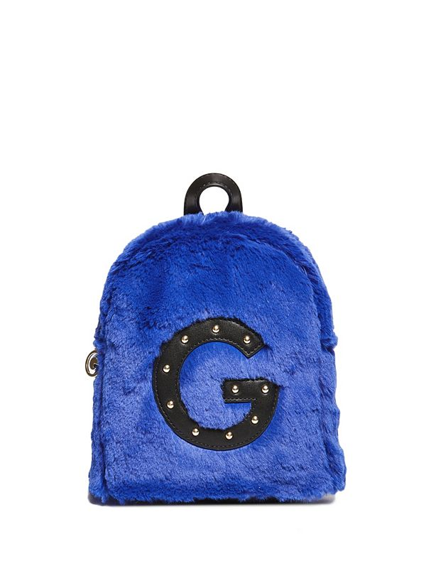 Faux-Fur Logo Mini Backpack 9514d431da9af