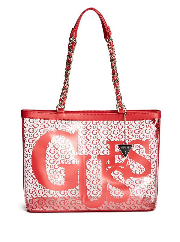 eee4bf591e1 18GF-211. best seller · Shay Clear Logo Tote