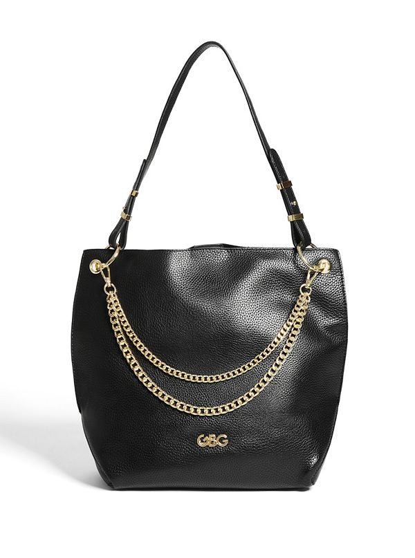 05a0eed41 Maison Chain-Accent Hobo Bag