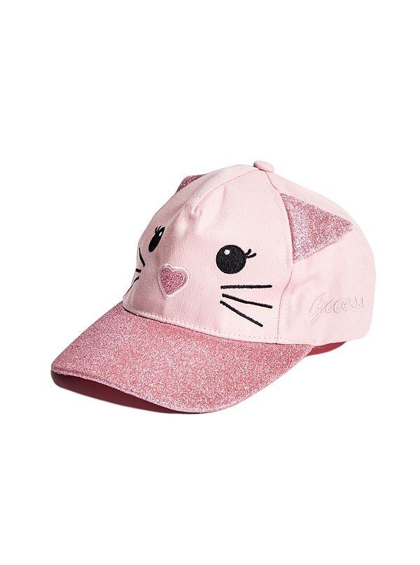 76e6e3186d6 Girl s Cat Ears Baseball Hat