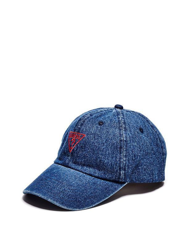 Denim Baseball Hat 081becf3567
