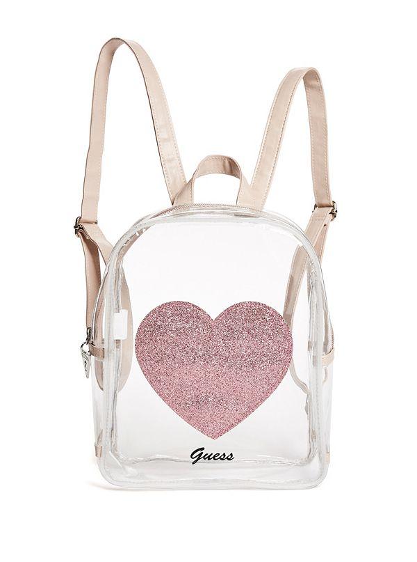 e93b7721ffea Girl s Clear Heart Backpack