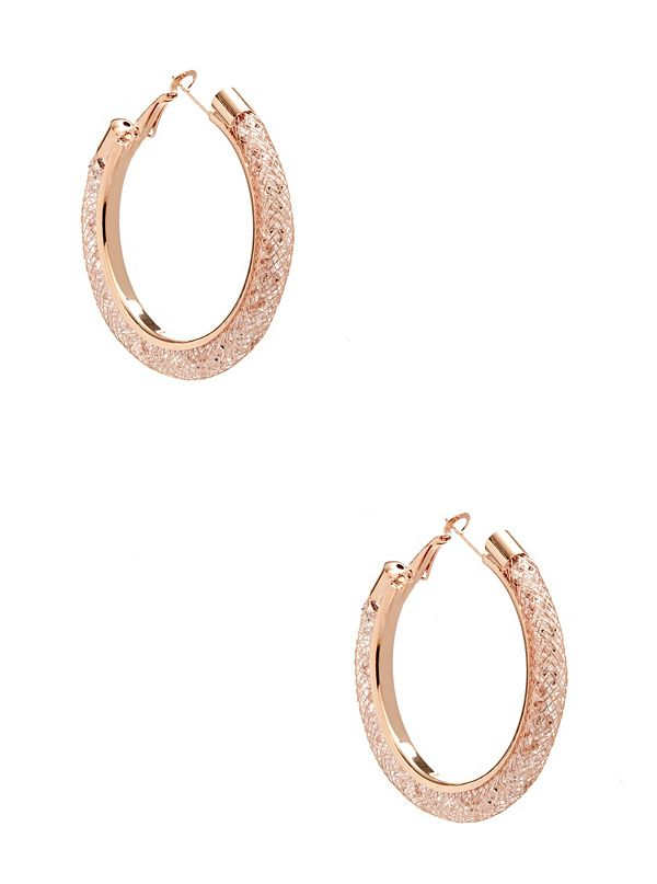 Patricia Mesh Hoop Earrings